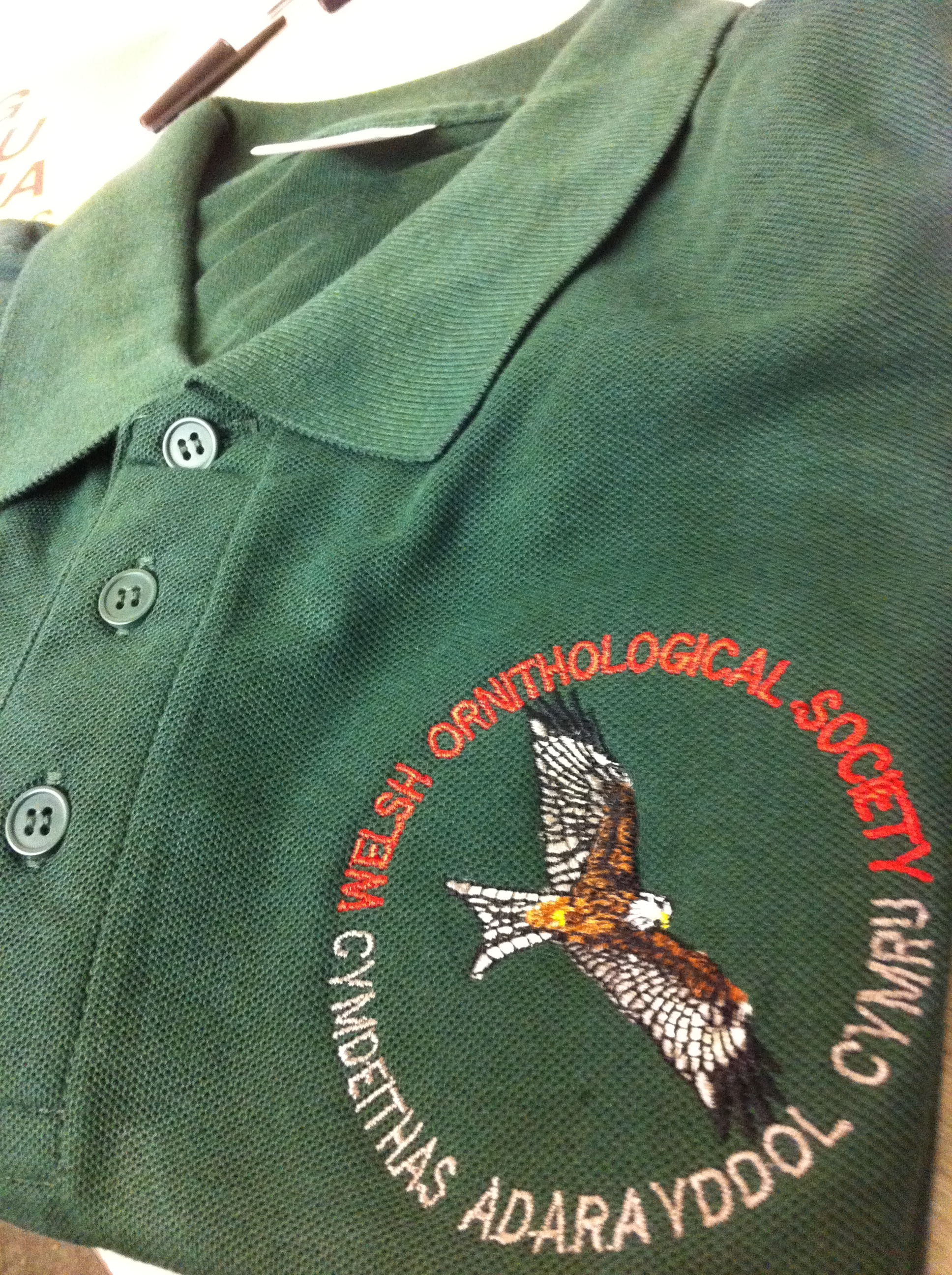 Personalized Embroidered Polo Shirts Shropshire Falconry